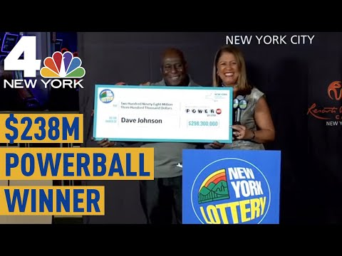 NYC Truck Driver Comes Forward as Lone $298M Powerball Winner