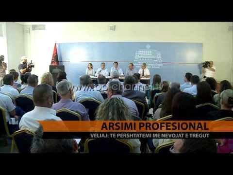 Veliaj për arsimin profesional - Top Channel Albania - News - Lajme