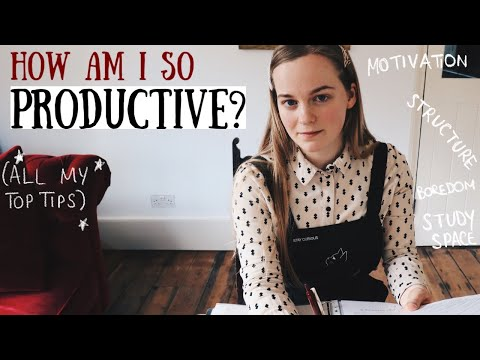 How Am I Always So Productive? (Ultimate Productivity Guide During Lockdown) || Ruby Granger