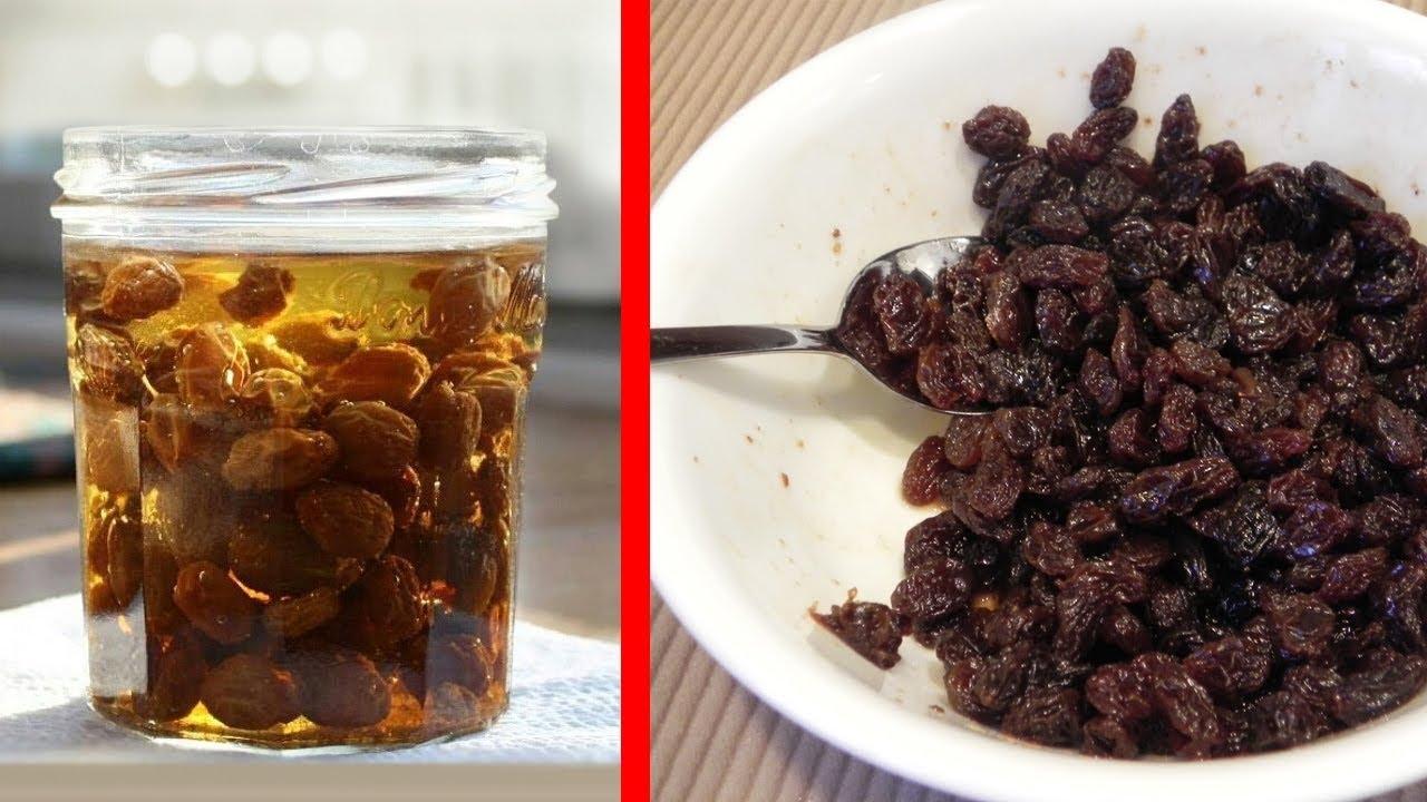 Raisins. Beneficial features