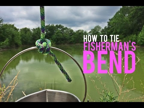 How To Tie A Fisherman's Bend Knot