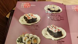Menu Ichiban Sushi FHD 60FPS - 17 September 2018