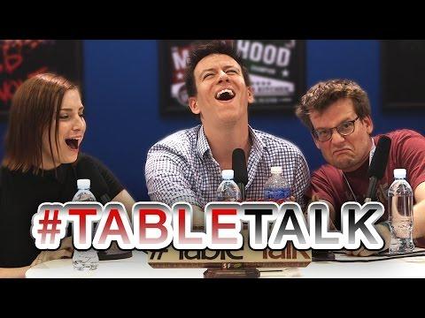 John Green on a SPECIAL VidCon #TableTalk!