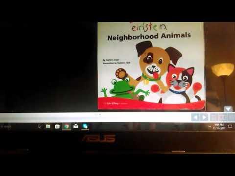70 Neighborhood Animals Coloring Book Free
