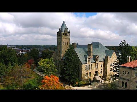 Ohio Wesleyan University From The Skies