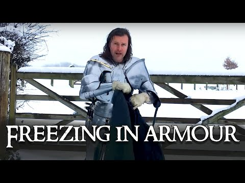 What's It Like To Wear Armour In The Freezing Cold And Snow?