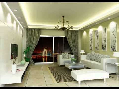 Wet and dry kitchen interior design interior kitchen for Simple green living room designs