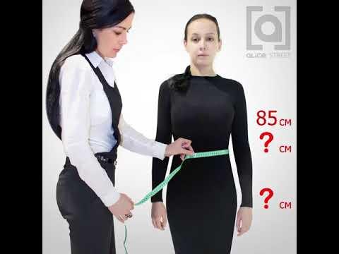 Размеры женской одежды. Как определить размер одежды?
