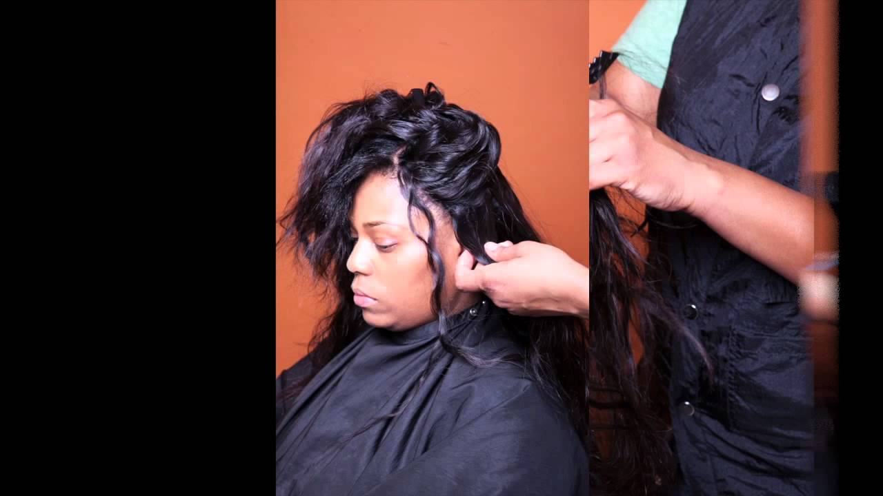 Sewin Weave By Kaysa Rah With Indique Pure Curly 12 Inch Hair Youtube