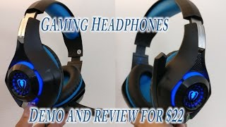 SENHAI GM-1 Great Gaming Headset Review for $22 great deal