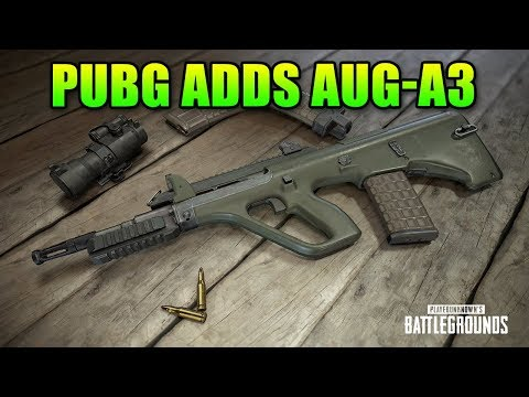 AUG-A3, Kill Cams & More Added To PUBG
