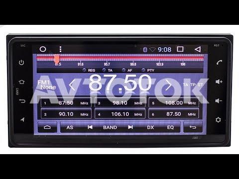 Штатная магнитола Toyota (Daihatsu) (200x100) 2 GB RAM 8 Core CPU Android 7.1.2 KR-6954L2