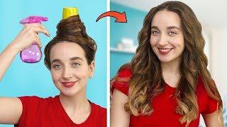 Smart Beauty Hacks / Amazing Hair Tricks For A Real Princess