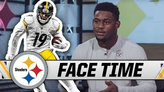 JuJu Smith-Schuster Talks About His Epic Celebrations, His 6 Siblings & More | Face Time