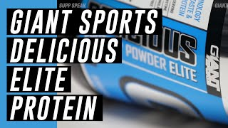 Giant Sports - Delicious Elite Protein (Protein Powder) - Supp Speak