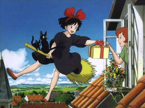 A Town With An Ocean View (Music Box) - Kiki's Delivery Service