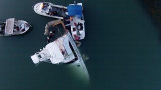 Sunk Boat Salvage process in Murrells Inlet SC (DJI Phantom 2)