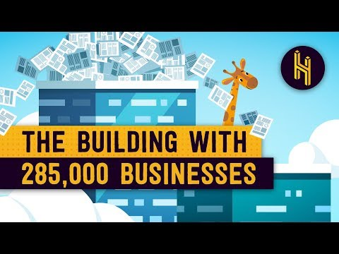 The Tiny Building Where 285,000 Businesses are Based
