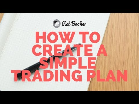 Creating a Simple Trading Plan - Sound Starts at 1:58