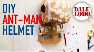 #98: Ant-man Helmet Part 1 - Cardboard (free template) | Costume Prop | How To | Dali DIY