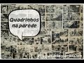 Quadrinhos na parede