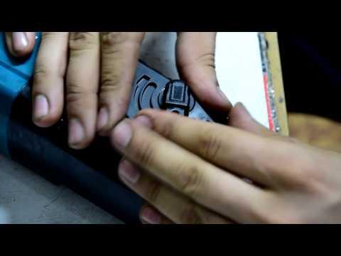 Как снять переключатель режимов на перфораторе макита 2450