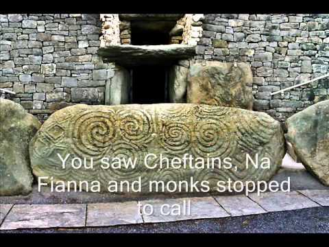 Wolfe tones Newgrange with lyrics