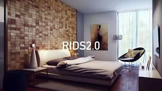 Мозаика из дерева на стену. Дизайн мастерская  RIDS2.0