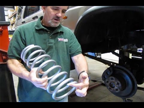 Installing Spring And Shock Kit From Terrafirma On Discovery Series II