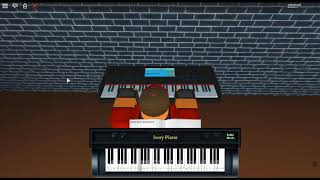 You Don't Know - Tired Eyes by: Katelyn Tarver on a ROBLOX piano.