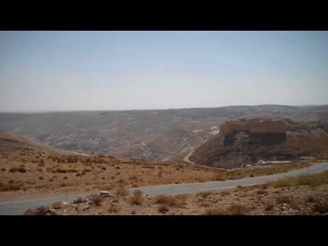 1200 year old Crusader Castle outside of Petra