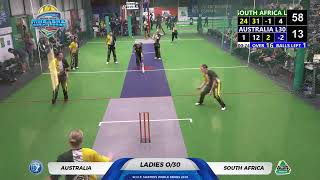 WICF 2019 Sunday 20 Oct  South Africa L30 VS Australia L30 16:45 Court 1