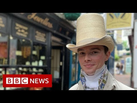 Why I dress as a Regency gentleman... everyday of my life  - BBC News