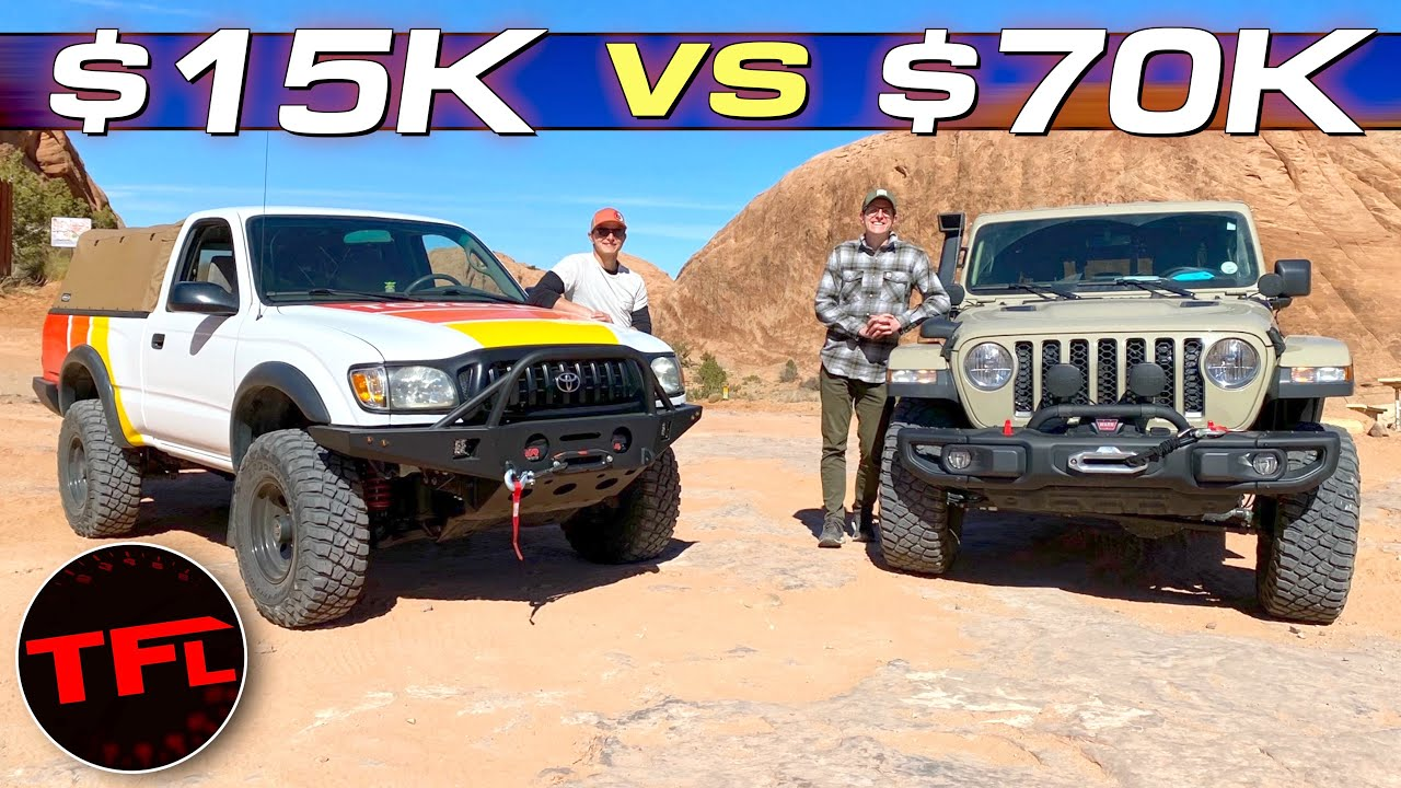 Behind the Scenes: Can Baby Yota Hang with the Big Boy Jeep in Moab?