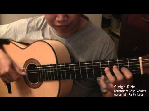 Sleigh Ride - (arr. Jose Valdez) Solo Classical Guitar