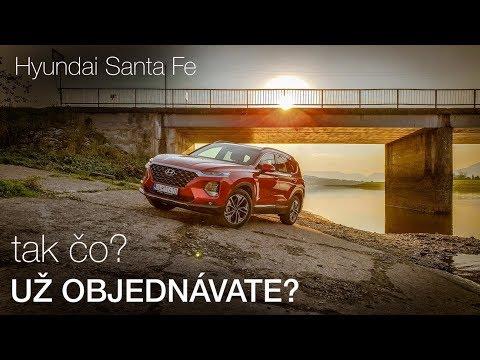 TAK ČO? UŽ OBJEDNÁVATE? Jazdili Sme Nový Hyundai Santa Fe