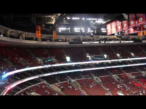 Wells Fargo Center inside