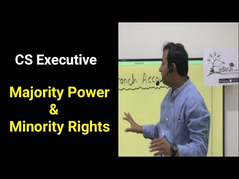 Majority power and minority rights by Arpit sir