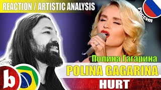 Download POLINA GAGARINA Поли́на Гага́рина! Hurt - Reaction Reação & Artistic Analysis (SUBS) Mp3 and Videos