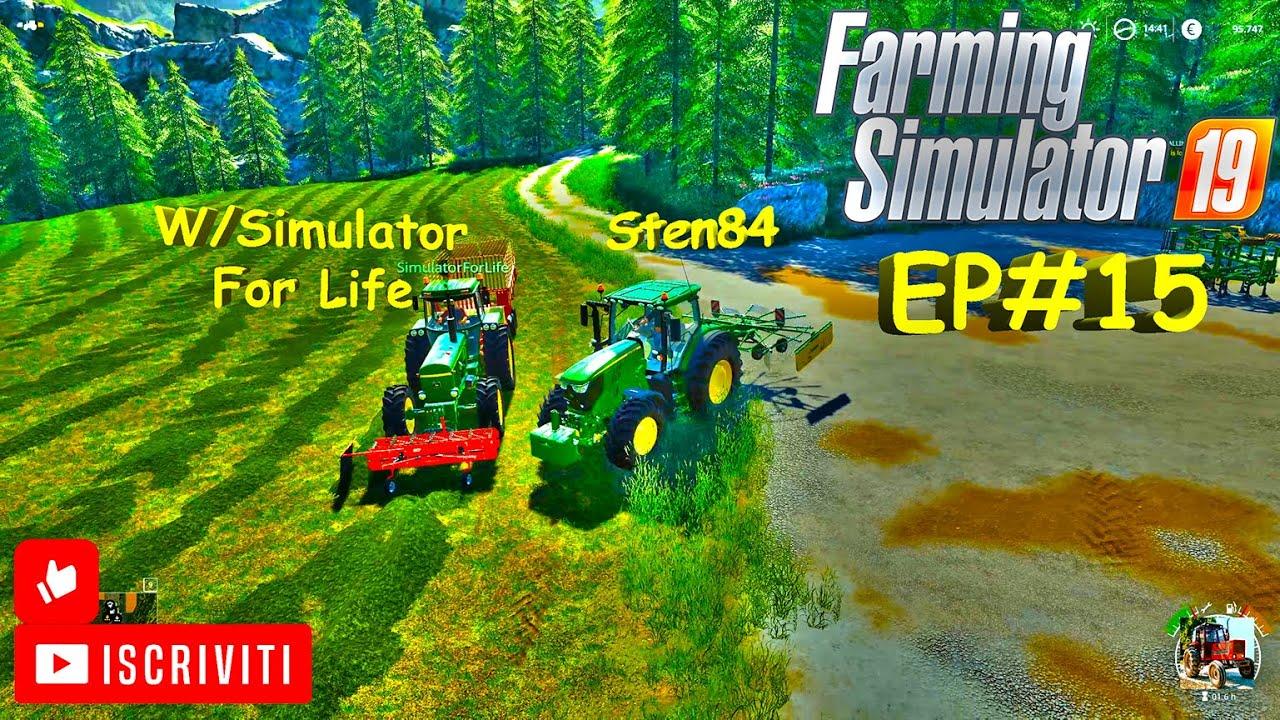 FS19 EP#15 NUOVA SEMINATRICE E STALLA PECORE CON #simulatorforlife map Miniburn FS19 ITA #sten84