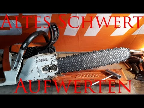 stihl 044 mobiles anbaus gewerk s gt eichenbretter doovi. Black Bedroom Furniture Sets. Home Design Ideas