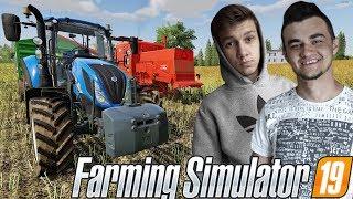 Farming Simulator 19☆ Bizona W Akcji Czyli Żniwa Rzepaczane :D  !☆ ✔ Sąsiedzkie Zmagania #16