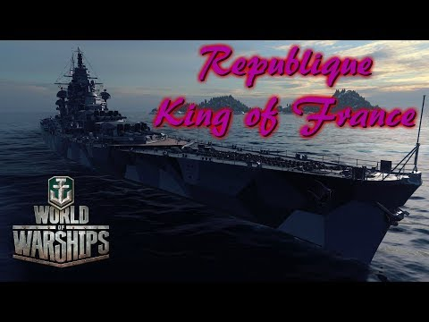 World of Warships - Republique: King of France