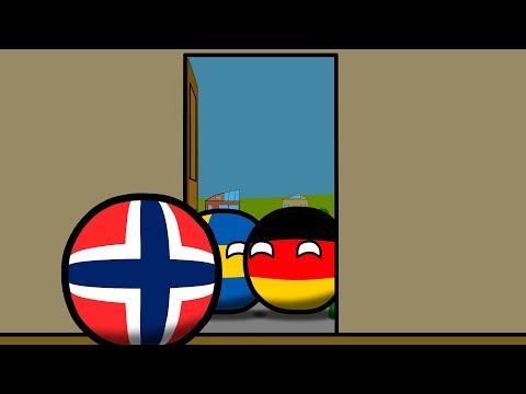 видео: №2 | Европейский Союз (ЕС) и Норвегия (COUNTRYBALLS)