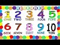 Numbers in English 1 to 10 for Children NEW   Numeros en Ingles 1 al 10 para Ni  os NUEVO