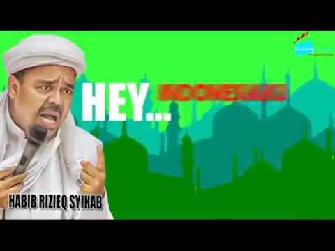 Ceramah Habib Rizieq Gempa Musibah
