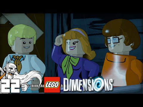 """SCOOBY DOO WHERE ARE YOU?!?"" LEGO Dimensions Part 22 - 1080p HD PS4 Gameplay Walkthrough"
