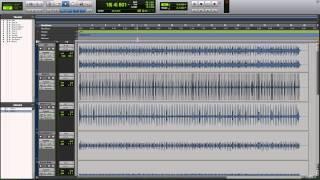 Pro Tools 11 - #20 - Elastic Audio pt.2 - Rhythmic, Quantizing Live Drums