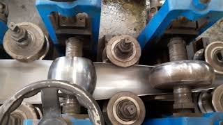 How pipes are made in factory || SS Tube Mill