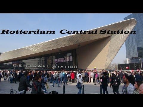 Netherlands-King Willem Alexander opens beautiful new CS Rotterdam  Part 16